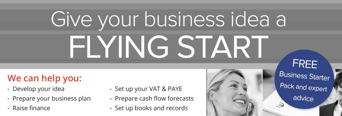 flying-start-banner-black-and-white